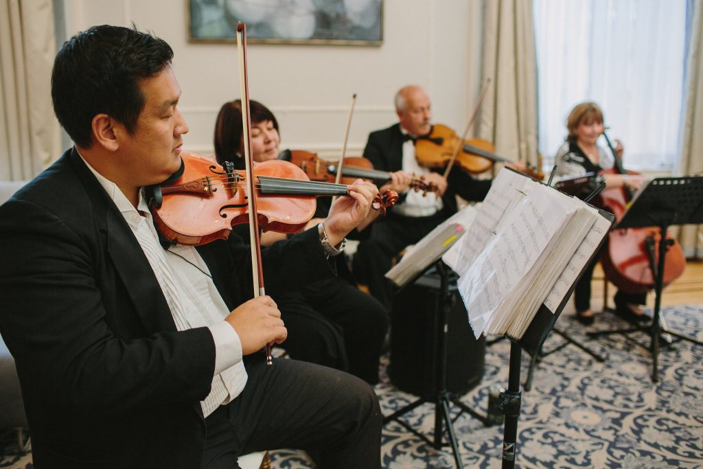 Vancouver classical wedding music